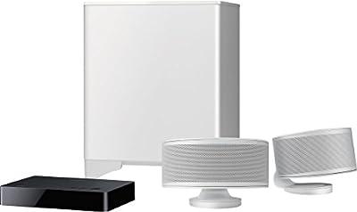 Onkyo LS-3200 Sistema Audio 2.1 canali, DTS Studio Sound, Dolby Digital, Bluetooth, Subwoofer wireless