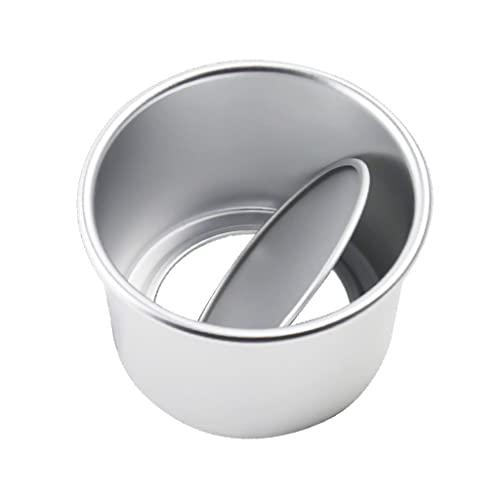 WACLT Molde de torta circular de aleación de aluminio, molde de pan infinito desmontable Herramienta de producción de cocción para hornear
