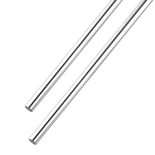 S SIENOC 500mm Linearwelle Ø8mm Linearführung Horizontale Präzisionswelle Linearlager für 3D Drucker CNC (Typ-4, 2Set, 500mm)