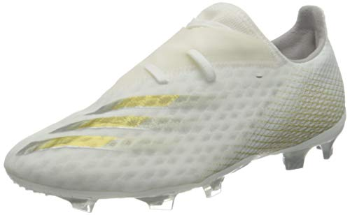 adidas X GHOSTED.2 FG, Chaussure de Football Homme, FTW Bla/Oromez/Plamet, 40 2/3 EU