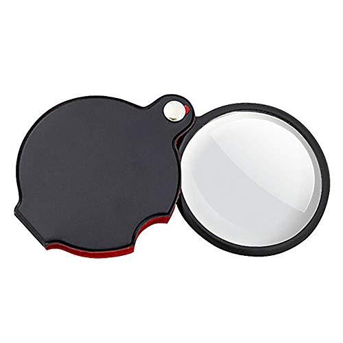 FDJ vergrootglas - multifunctionele draagbare vouwloep Hd Oudere krant lezen handloep basisschool kind observatieloep optische glazen lens vergrootglas - vergroting