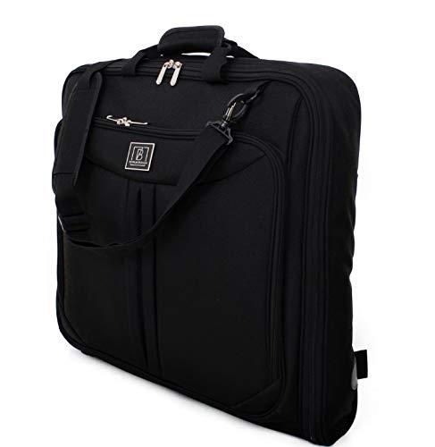 Barlborough Barlborough Anzug-Reisetasche, perfekter Kleidungs-Koffer-Organizer für Geschäftsreisen und Freizeit, 101,6 cm, passend für bis zu 3 Anzüge/Kleider + Zubehör
