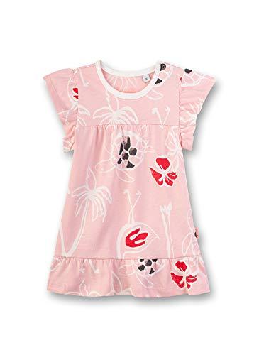 Sanetta Baby-Mädchen Kleid, Rosa (Rose 38099), 80 (Herstellergröße: 080)