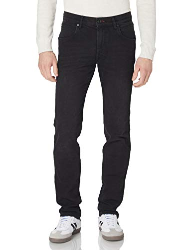 Bugatti Herren 3038D-86676 Straight Jeans, Schwarz (Anthrazit 291), W42/L34