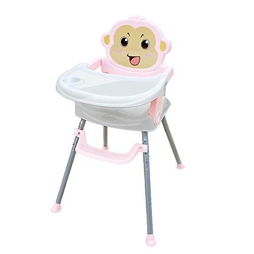 YXB Baby Eetstoel Eet Inklapbare Draagbare Babystoel Multifunctionele Eettafel Stoel Kinderen Eetstoel met Wiel
