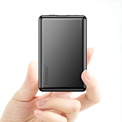 YWTESCH Batería Externa 10000mAh, Power Bank Cargador Portátil con Salida USB A...