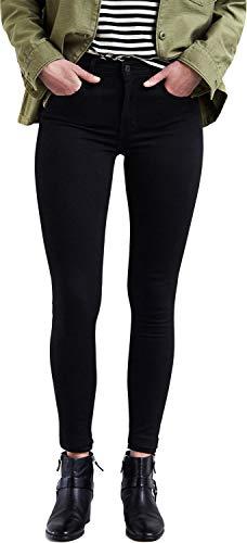 Levi's Damen 720 Hirise Super Skinny Jeans, Black Galaxy, 30W / 34L