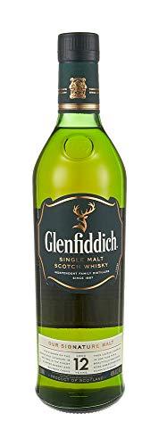 Glenfiddich Speyside Single Malt Scotch Whisky 12 Year, 750 ml, 80 Proof