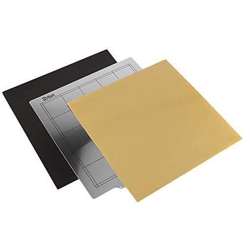 XUSHEN-HU 3D Printing Accessories Cr-10S Hot Bed Platform 300x300Mm Steel Plate + Magnetic Sticker B Surface + High Temperature Resistant Pei For Tevo Tornado Lulzbot Taz6 Printer Tools