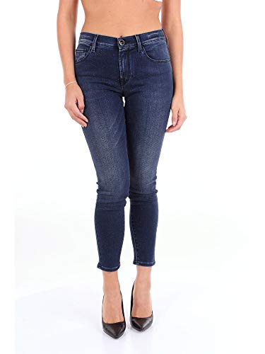 Luxury Fashion | Jacob Cohen Dames KIMBERLY00129BLUE Donkerblauw Andere Materialen Jeans | Seizoen Outlet