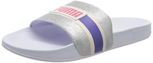 Puma Mädchen Leadcat FTR 90s Pop WNS Dusch und Badeschuhe, Weiß White-Pink Rosewater-Purple Corallites 02, 35 EU