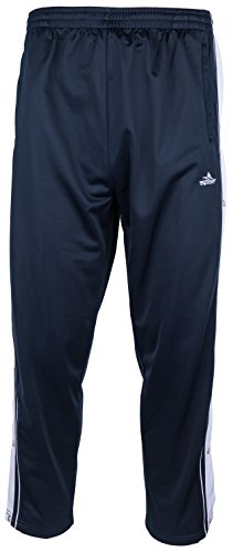 SOUNON Sporthose, Joggings Hose, Trainingshose mit Knöpfleiste Dunkelblau, Groesse: XL