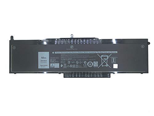 7XINbox 11.1V 92Wh WFWKK VG93N NY5PG Laptop Battery for DELL Precision 15 3520 5580 Series Tablet