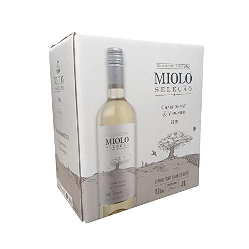 Vinho Miolo Seleção Chardonnay/Viognier Bag 3 Litros