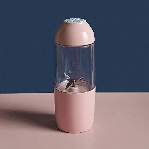 Exprimidor máquina multifunción Mini exprimidor eléctrico P ortable batería USB pequeño mezclador de color rosa-f o alimentos zanahorias peras kiwi fruta batidora eléctrica el milkshake alimentos for