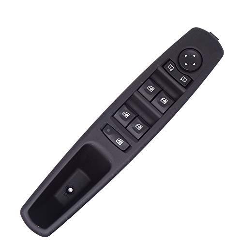 Vinciann Pulsantiera alzacristalli con cornice lato guida Interruttori pulsanti console auto compatibile con codice OEM 809610016R adatto a Grand Scénic compatibile con Megane e altri - RN5T