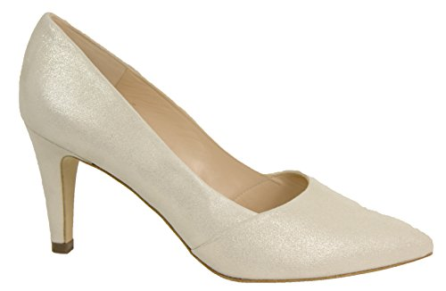 Peter Kaiser Court Shoe - Eleonore 76131 5.5 Silver