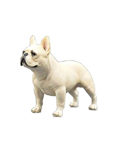 French Bulldog Statue Decoration, Resin Dog Craft Model, Simulation Dog Statue Sculpture, Home Decoration Decoration H15CM for Home Garden