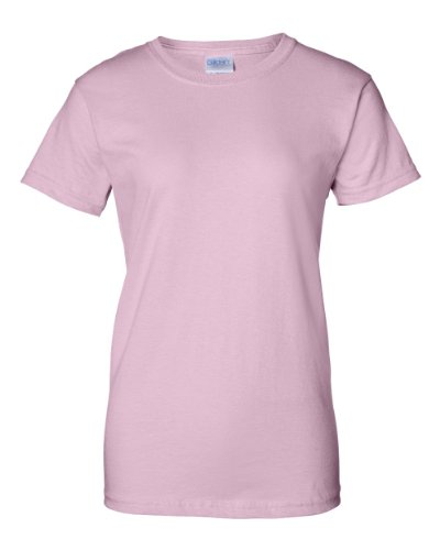 Gildan Womens 6.1 oz. Ultra Cotton T-Shirt G200L -LIGHT PINK 2XL