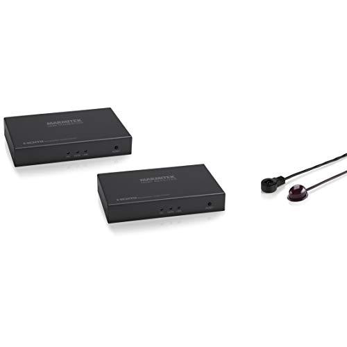 Marmitek MegaView 91 - HDMI extender - meer dan 1 CAT 5e/6 kabel of netwerk (IP/LAN) - Full HD - 1080P - 120m - extra ontvanger - infrarood achterkanaal - HDMI-extender via bestaand netwerk