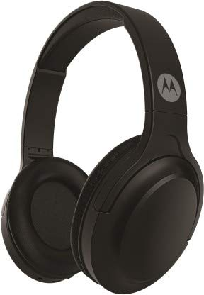 Motorola Escape 200 Over-Ear Bluetooth Headphones with Alexa (Black)