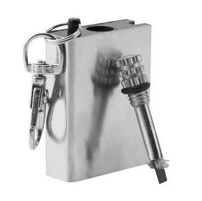 Leyeet Match Feuerzeug Wasserdicht Outdoor Camping Metall Permanent Striker Survival Flame Safe zu verwenden für jedermann