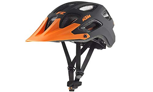 KTM Helm Factory Enduro 52-56 Fidlock Schwarz Matt/orange