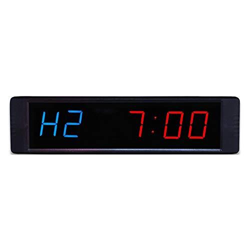 Feixunfan Countdown Timer Home Gym Digitale Interval Timer Enorme En Zichtbare Countdown Klok Oefening Timed Countdown Muur Klok Met afstandsbediening Grote Countdown Timer