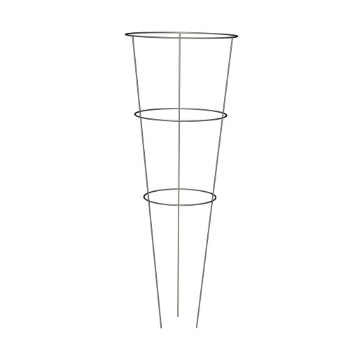 Panacea Products 89723 Tomato and Plant Support Cage,Galvanized, Pack of 10