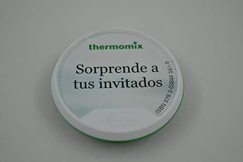 Vorwerk RECETARIO THERMOMIX TM5, Libro Digital SORPRENDE A Tus Invitados