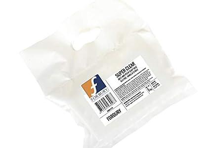 2kg (1kg + 1kg) Base Jabón de glicerina transparente sin SLS, Forbury Direct Super Clear Soap Base