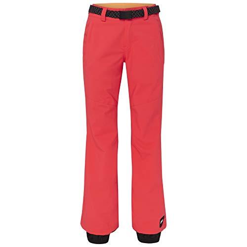 O'Neill Damen PW Star Snow Pants, Neon Flame, L
