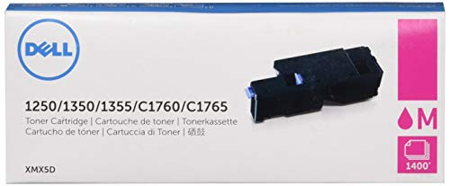 Dell C1760nw / C1765nf / C1765nfw / 1250c / 135X High Capacity Magenta Toner Kit Approx. 1,400 pages