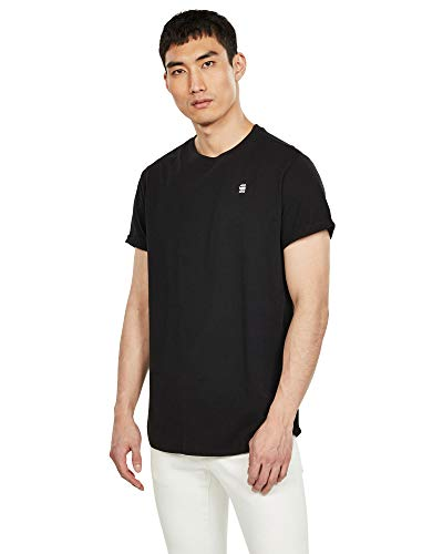 G-STAR RAW Lash Relaxed Fit T-Shirt, Nero (Dk Black B353-6484), S Uomo