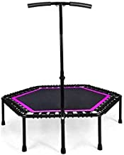 Outdoor Kids Trampoline Fitness Oefening Trampoline met Handvat Bar 40 inch Opvouwbare Rebounder Cardio Workout Training v...