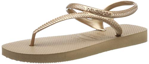 Havaianas Flash Urban, Sandali Bassi Donna, Oro (Rose Gold), 39/40 EU