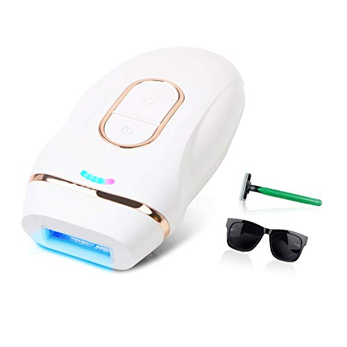 Hair Removal for Women and Men, Permanent Hair Removal Device Facial Painless Professional Laser Hair Remover Tool Whole Body at-Home Use