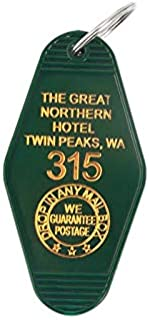 Key Chains - Twin Peaks Key Chains The Great Northern Hotel Room # 315 Key Tag Keychain Acrylic Keyring for Women Men Fashion Jewelry - by Mct12-1 PCs