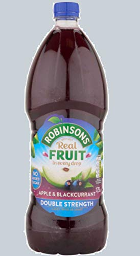 Robinsons Double Concentrate Apple/Blackcurrant (Pack of 2)