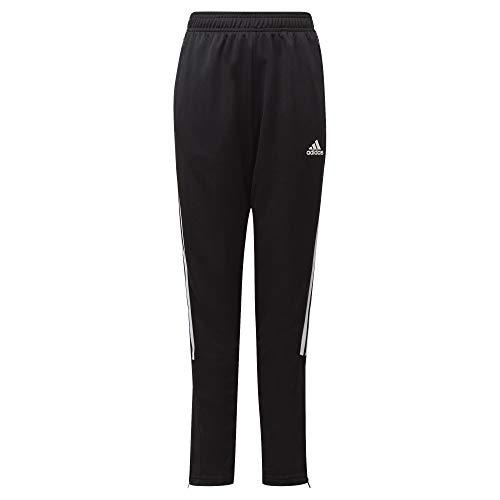 adidas unisex-child Tiro 21 Track Pants Black/White Medium