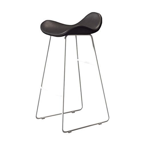 Barhocker Hausbar Stuhl Startseite Moderne minimalistische Bar Stuhl Vordersitz Cafe Hoch Hocker (Color : E, Size : 75cm)