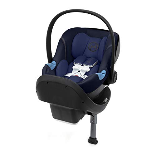 Cybex Aton M Rear Facing Infant Car Seat with SafeLock Base,...