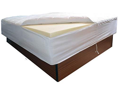 Traumreiter Wasserbett Topper I Macht Dein Wassserbett ruhiger und Fester I weniger bis kein Stromverbrauch (160 x 200 cm)