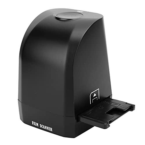 PUSOKEI Scanner per Pellicole, Converte Visualizzatore di Immagini Digitali da 35 Mm / 135 Mm da 8 MP, da Pellicola a Foto JPG Digitali, Scanner per Foto per Windows XP/Vista