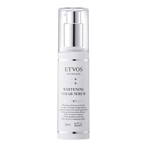 ETVOS 医薬部外品 美白美容液 薬用ホワイトニングクリアセラム 50ml 敏感肌 トラネキサム酸 ヒト型セラミド