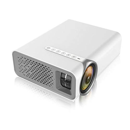HongLianRiven projector, 800x480dpi ondersteuning 1080P-wit - aanbiedingen 3 functies opties-18.9x15.7x7.5cm 11-25