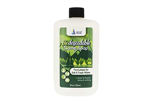 Biodegradable Camp Soap - 8 oz - For Fresh