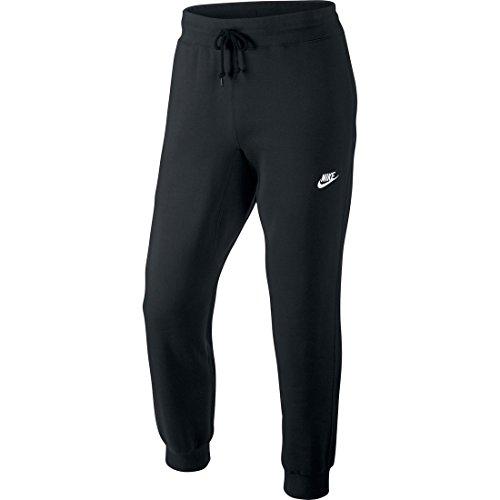 Nike Herren Hose AW77 Cuffed Fleece, schwarz, S, 598871-010