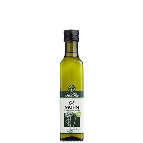 ÖLMÜHLE SAUERLAND - Mohnöl BIO kaltgepresst nativ (250 ml)
