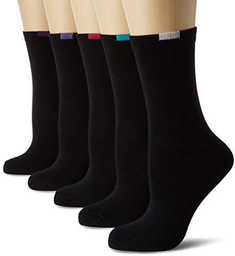 Dim BUNDLE MI-CHAUSSETTE ECODIM X10, Chaussettes Femme, Noir (Noir 0hz), 37/41 (Taille fabricant: 37/41)